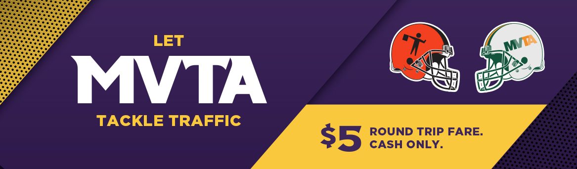 MVTA Express Service to 2018 Minnesota Vikings Home Games