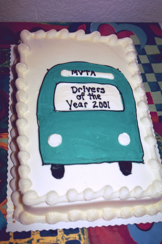 2001 Driver of the Year Cake
