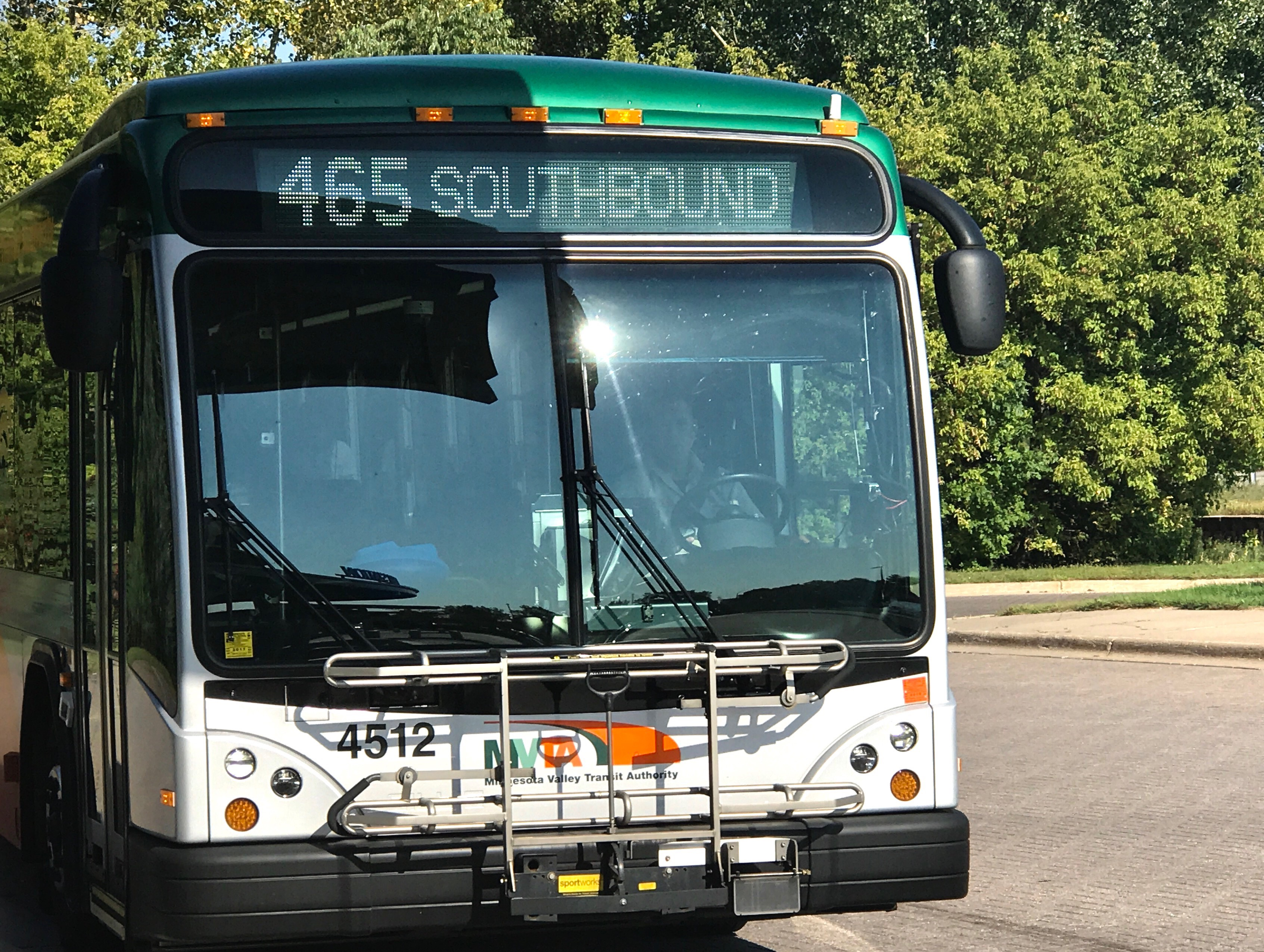 Route 465 has coordinated stops with Route 495 to get people from Minneapolis to Scott County faster than before.