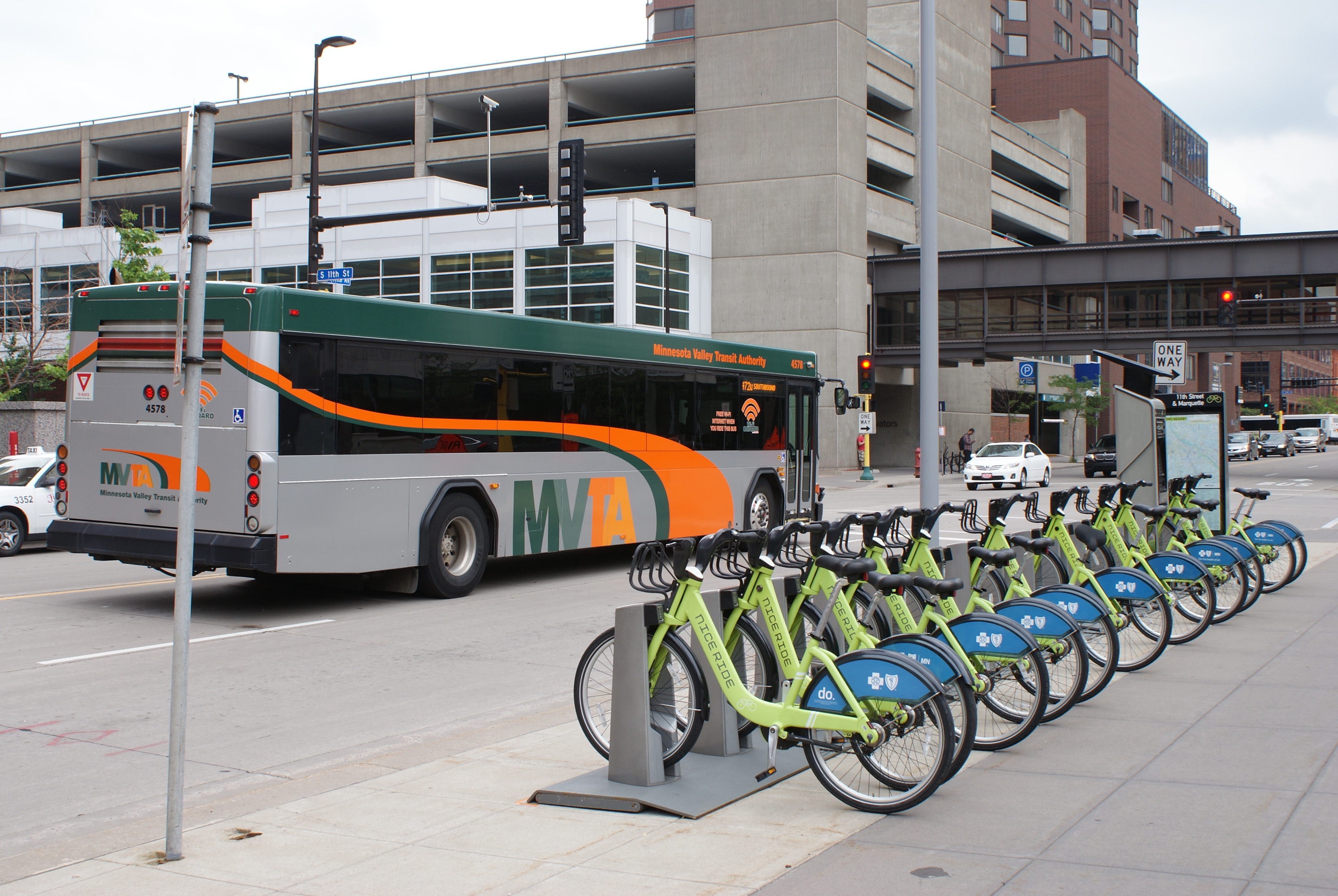 More than 60 percent of Minnesota Valley Transit Authority ridership is for commuters to Minneapolis.