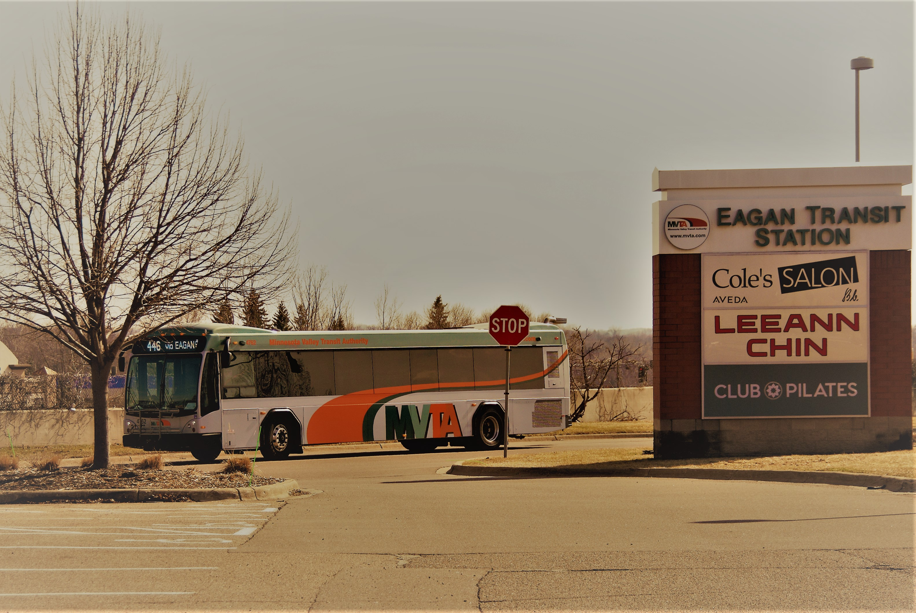 Eagan Transit Station is located at 35E/Pilot Knob/Yankee Doodle