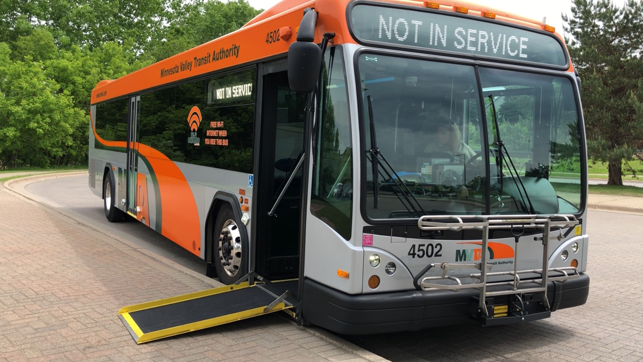All MVTA Buses are Accessible