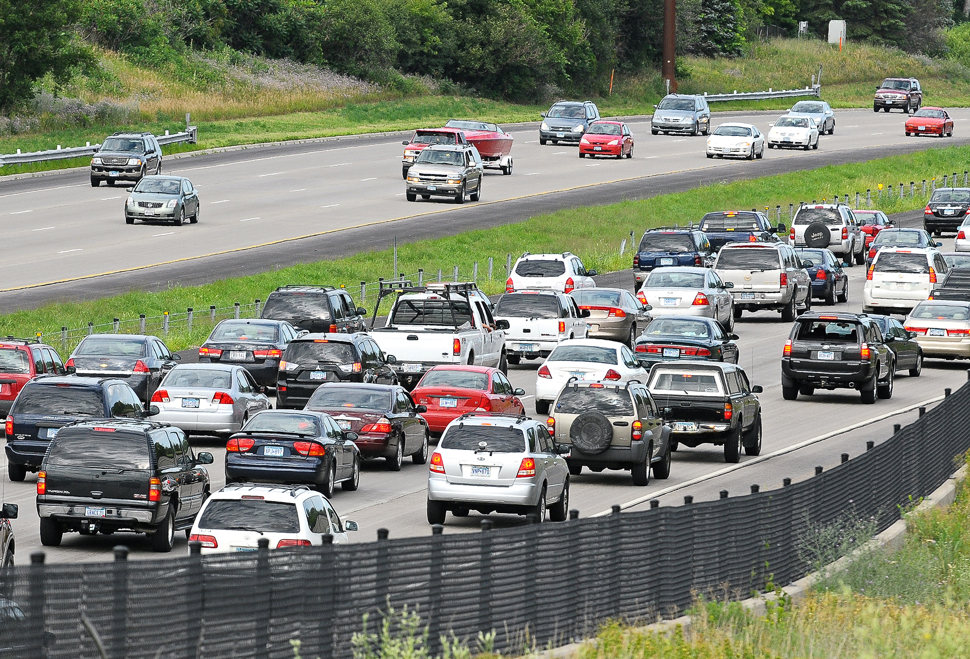 A recent report from the Minnesota Department of Transportation indicates solutions are needed for metro area congestion (Photo Credit: Minnesota Department of Transportation).