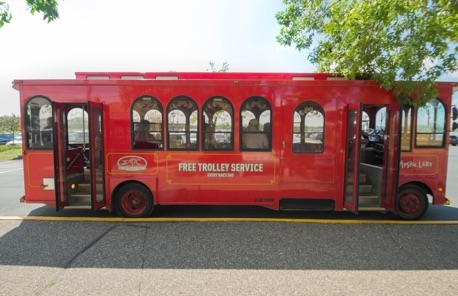 Canterbury Park has expanded trolley service this summer to help race fans to get to the park and race days.